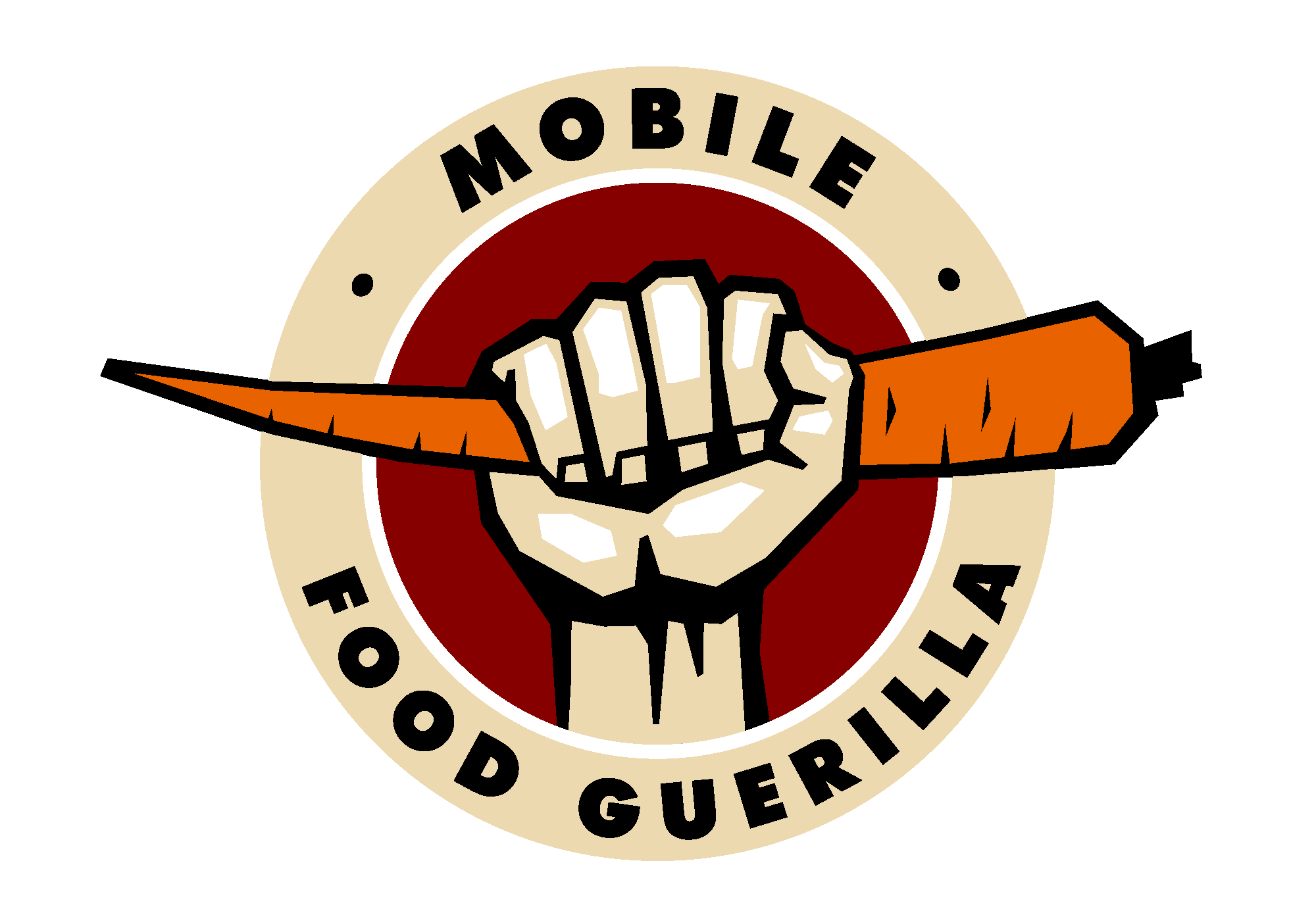 Mobile Food Guerilla Logo