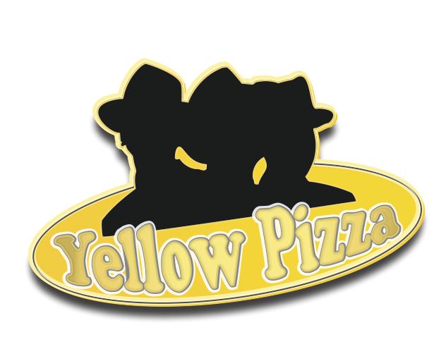 Yellow Pizza Logo