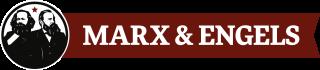 Marxs und Engels Logo
