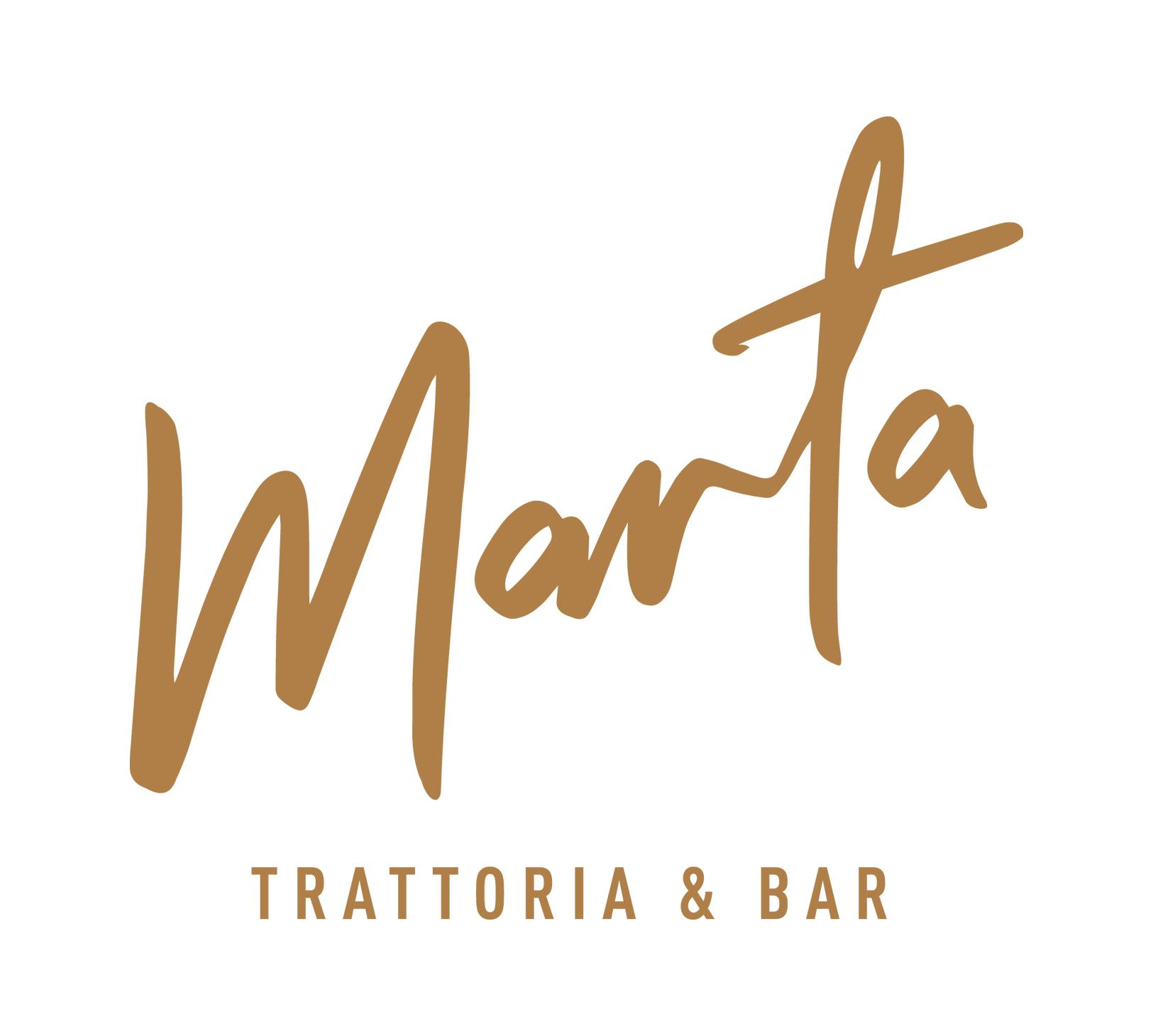 MARTA TRATTORIA & BAR Logo