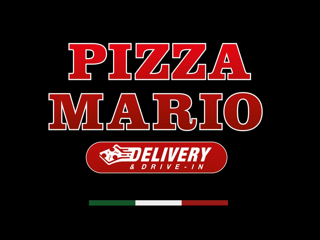 Pizza Mario Delivery & Drive In Logo