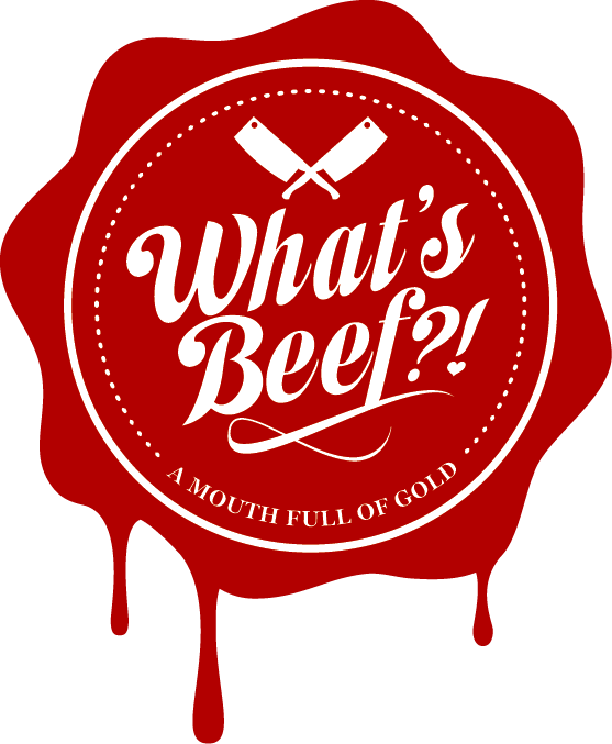 What's Beef Logo