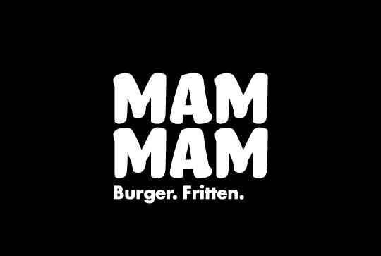 Mam Mam Burger Logo
