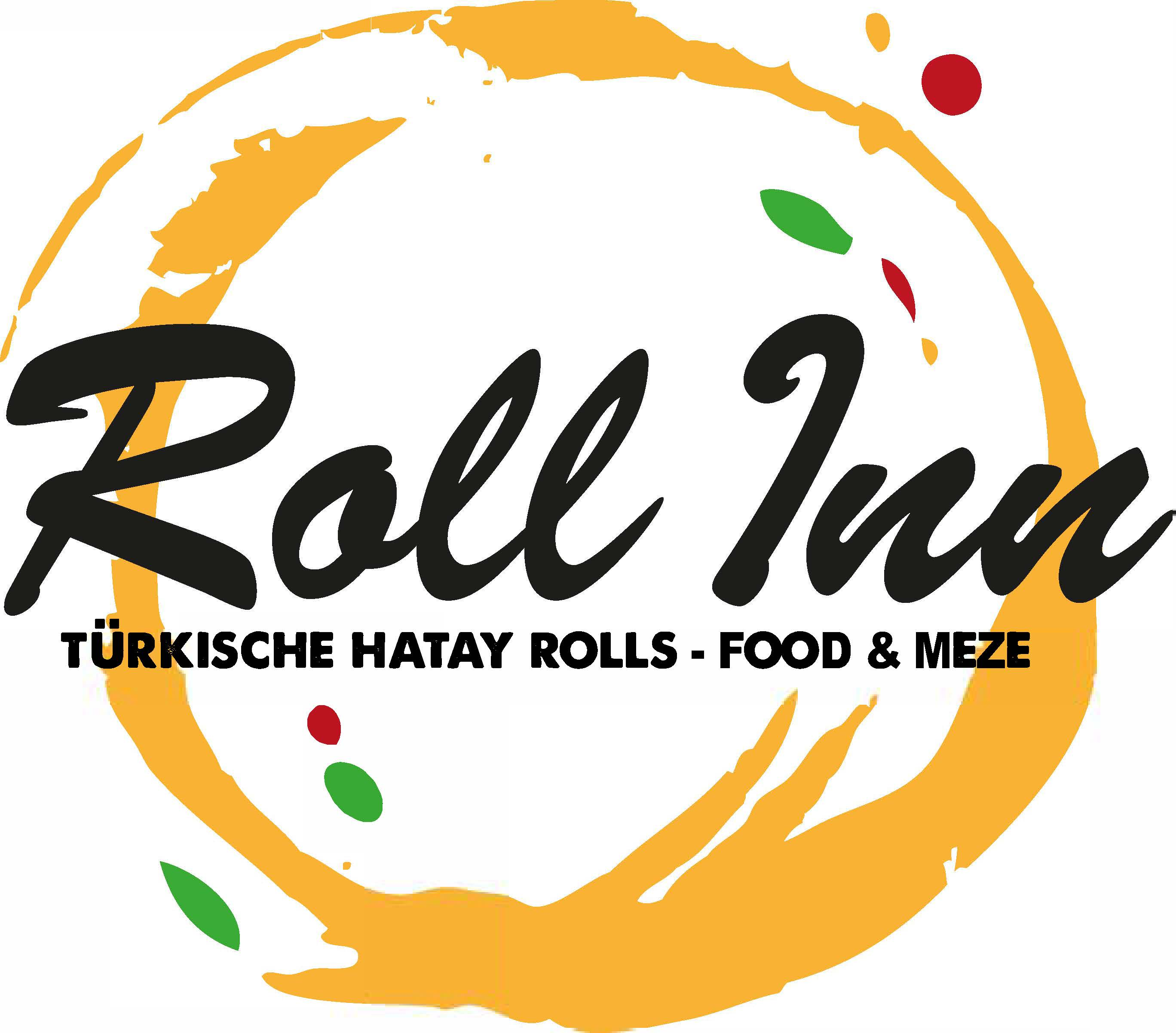 Roll Inn Food & Meze Logo